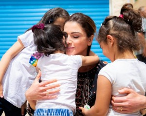 بصمات في عيد ميلاد الملكة رانيا العبدالله