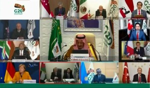 الملك وولي العهد يشاركان بقمة قادة الدول العشرين