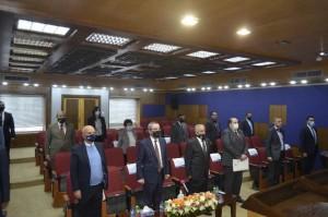 وزير التعليم العالي والبحث العلمي يزور عمان الأهلية ويطلع على تجربة التعليم الإلكتروني فيها