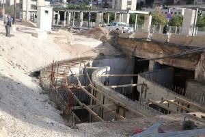 الامانة: ايقاف مشروع عبارة وسط البلد يعطل حلول تصريف مياه الأمطار