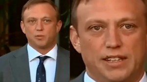 بالفيديو.. موقف مثير لسياسي ابتلع ذبابة على الهواء