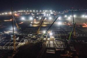 في 5 ايام .. بناء مستشفى صيني جديد لعلاج كورونا