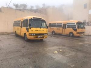 جامعة عمان الأهلية تطلق حملة الشتاء لمساعدة الأسر العفيفة في محافظة البلقاء