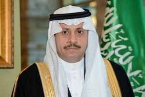 شخصيات أردنية في منزل السفير السعودي - صور