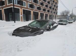 موسكو تغرق في الثلج (صور)
