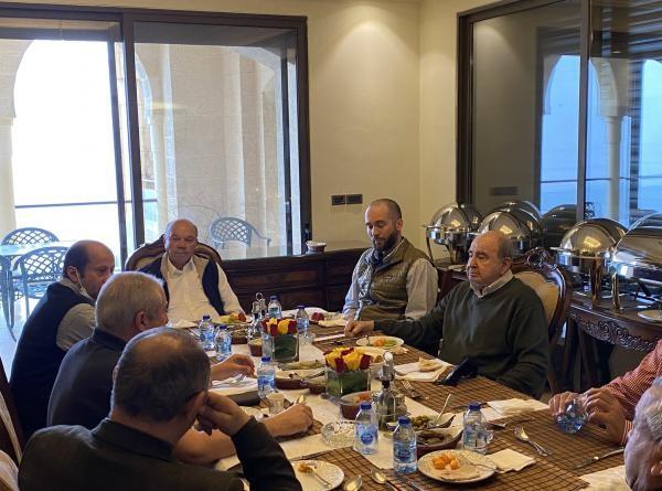 السفير السعودي يجمع الأمير هاشم ورؤساء ووزراء سابقين