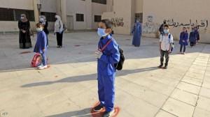 قبيلات: 65 مدرسة و306 شعب مغلقة بسبب كورونا