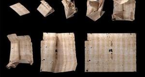 رسالة ورقية عمرها 300 عام ... كشف مضمونها دون فتحها
