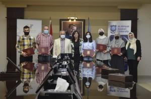 عمان الأهلية تُعلن أسماء الفائزين بجائزة الحوراني للفنون والتصميم في دورتها الأولى