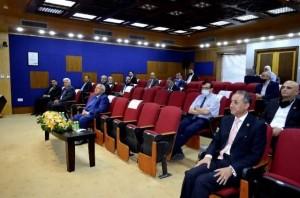 محاضرة لدولة عبد الرؤوف الروابدة في عمان الأهلية بمناسبة مئوية الدولة الأردنية
