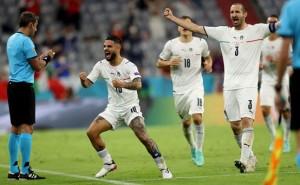 ايطاليا تقصى بلجيكا وتلحق باسبانيا لنصف النهائي