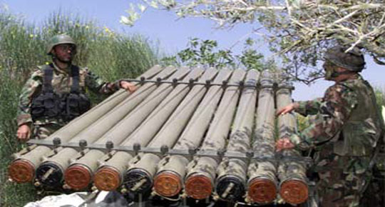 صواريخ كاتيوشا تسقط على شمال إسرائيل توقع عددا من الإصابات