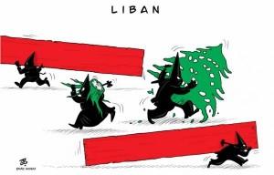كاريكاتور عماد حجاج حول لبنان في
