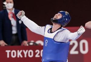 الشرباتي يضمن ميداليته ويتأهل الى نصف النهائي في تايكواندو الاولمبياد