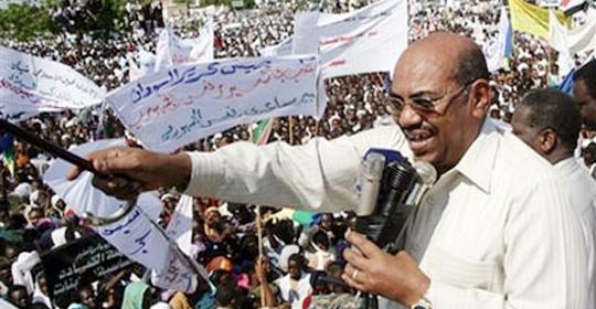 البشير من دارفور..نطالب بتجميد القرار وكل من وقف مع المحكمة تحت جزمتي