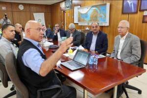 وفد نقابة المهندسين الأردنيين يزور مصانع شركة البوتاس العربية في غور الصافي