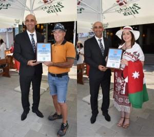 الأردنيان غدير حدادين ووليد التميمي يشاركان في السمبوزيوم الدولي السادس للفن التشكيلي ببلغاريا