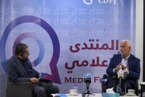 بالصور .. حماية الصحفيين يستضيف وزير التنمية الاجتماعية
