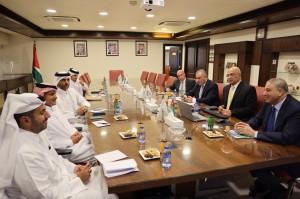 وفد قطري برئاسة رئيس استثمارات آسيا وأفريقيا في جهاز قطر يزور