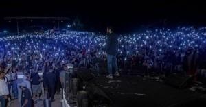 مشاهد جمهور تامر حسني تثير جدل الأردنيين