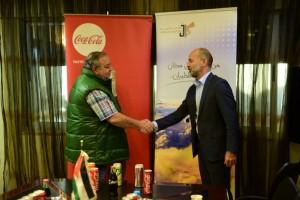 شراكة إستراتيجية تجمع بين   الأردنية للطيران و كوكا كولا العالمية بحضور  الكابتن محمد الخشمان ومدير عام كوكا كولا