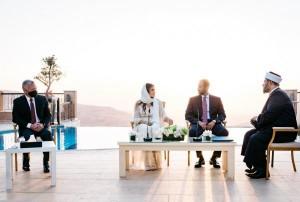 الأميرة دينا مرعد تنشر صوراً من عقد قران الأميرة شيرين بنت مرعد