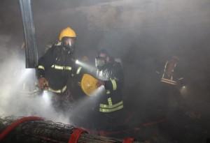 3 وفيات بحريق في مطعم بعمان