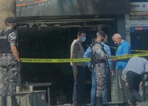 سبب حريق المطعم قرب الجامعة الأردنية