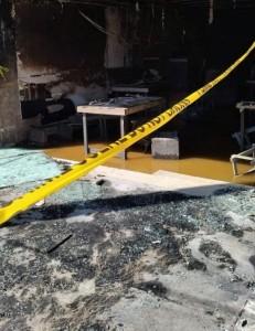 المدعي العام يباشر التحقيق بحريق مطعم أودى بحياة 3 أشخاص في شارع الجامعة
