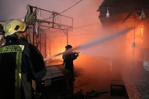 الدفاع المدني: نتائج التحقيق بحريق مجمع رغدان خلال 48 ساعة