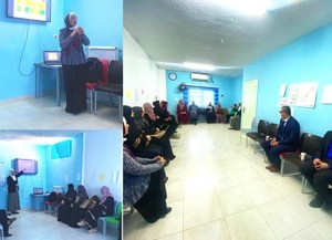 كلية العلوم الطبية في عمان الأهلية تنظم محاضرة توعوية لسيدات جمعية يعرب الخيرية