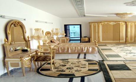 غرفة نوم صدام حسين للاستئجار في منتجع بابل السياحي