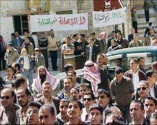 اعتقالات في صفوف المعلمين بعد اعتصامات في العاصمة والمحافظات