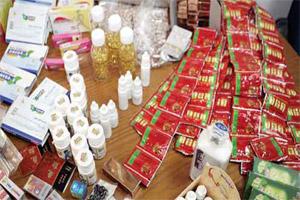 «الغذاء والدواء» تغلق أحد أكبر متاجر العطارة في وسط البلد