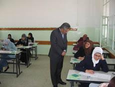 طالبات يعتصمن في جبل عمان اثر قرار بمنع زميلات لهن من دخول الامتحانات