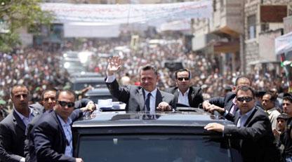 الملك يزور محافظة الطفيلة ويلتقي ممثليها ووجهاءها