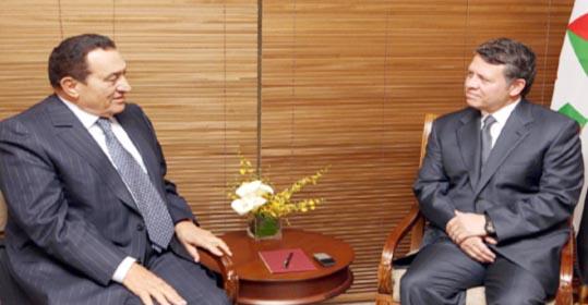 بما يخدم القضية الفلسطينية..الزعيمان يؤكدان ضرورة تحقيق التضامن العربي