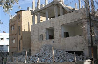 3 وفيات اثر انهيار مبنى في ضاحية الأمير حسن