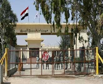 أعضاء الوفد النيابي الأردني يعتصمون أمام معبر رفح بعد منعهم مجددا من دخول غزة