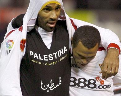 معاقبة المالي كانوتيه بسبب تضامنه مع فلسطين