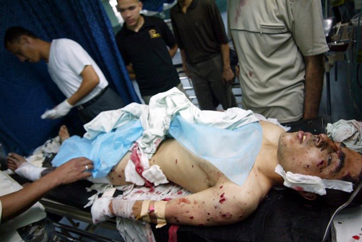 قصف خزاعة بالقنابل الحارقة والأسلحة الأوروبية تتوافد على إسرائيل