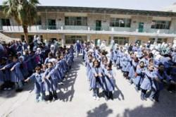 6ر1 مليون طالب يلتحقون بمدارسهم غدا