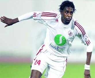 الحكم بإعدام لاعب نادي الشارقة الإماراتي فايز جمعة