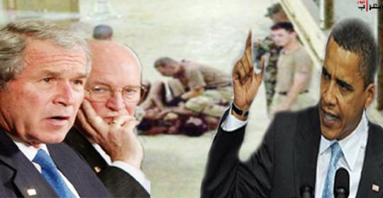 أوباما يعد بفضح وسائل التعذيب التي وافق عليها بوش في حروبه