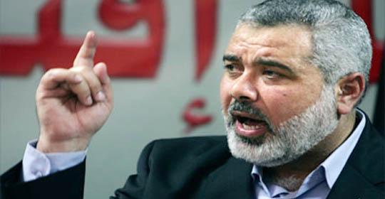 في أول ظهور علني..هنية: لا للوطن البديل..لا للمس بالأمن الأردني