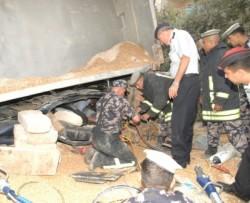 وفاة شخص وإصابة اثنين آخرين في حادث سير بمرج الحمام