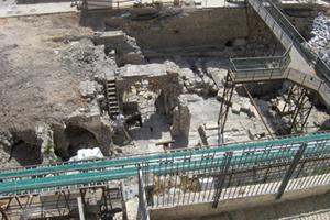 مخطط إسرائيلي لإقامة سكة قطار ومصعد أسفل ساحة البراق