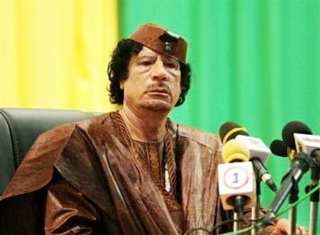 """القذافي يصف المحكمة الجنائية الدولية بأنها شكل جديد من """"الإرهاب الدولي"""""""