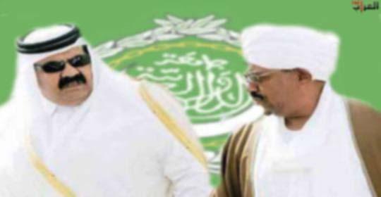 البشير يصل الدوحة..والسودان يهدد بالانسحاب من الجامعة العربية