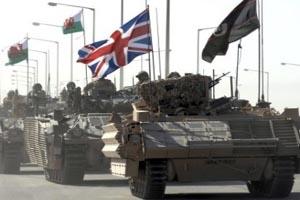 الجيش البريطاني يبدأ انسحابه من البصرة اليوم